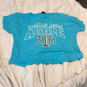 Tops - Loose short Aggie t shirt